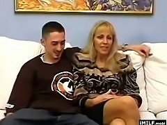MILF fulfills young dude fantasies