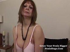 Granny teasing solo  free