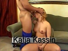 Katja Kassin is a sperm thirsty pornstar
