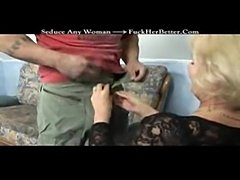 Blond granny suck and fuck  free