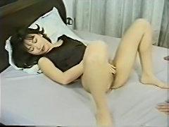Japanese milf sucks cock well