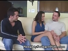 Hubby is jealous of wife's orgasms  free