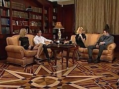 Milly D'Abbraccio  Friends orgy