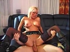 Awesome German milf lets him fuck her box