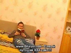 Blond hot russian mom