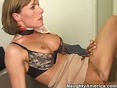 Saskia Steele  Sexy Milf Teacher
