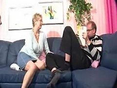 Tasty old German slut fucked with lust