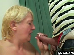 Old pussy needs cock