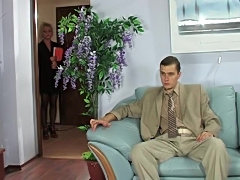 Sexy secretary analed in boss office