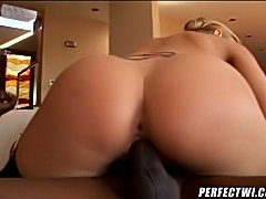 This nasty MILF always prefered black cock cause it was more intense and much bigger! More than this, she loves when her ass is banged enough hard to make her scream!
