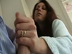 Hot Hand and Blow from Sexy Wife