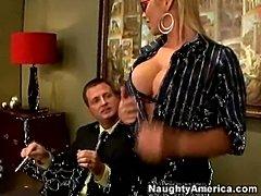 Abbey brooks and nina mercedez gets what she wants  free