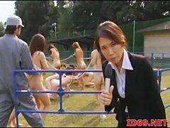 Japanese av model fucked  free