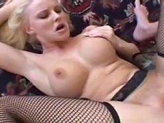 Blonde anal fuck and mouth shot