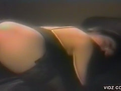 Hot Tokyo bargirl striptease in VIP room