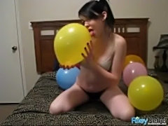 Rr131 balloons full - sexy balloon popping  free