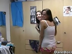 Three chicks and no dicks (Dare Dorm)