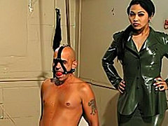 Asian Military Looking twisted Dominatrix