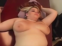 Exotic BBW gets to play with the president.