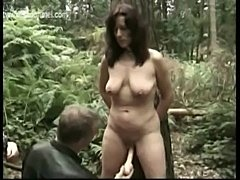 Milf slave covered in candlewax gets it spanked off by her m free