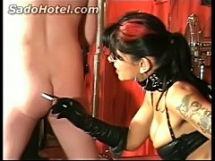 Mistress hits back and burns ass with a cigarette 124  free
