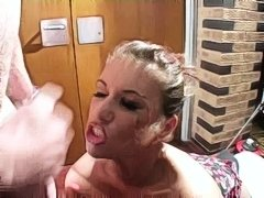 Bitch gets gang bang facials part 2 - xHamster.com