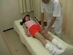 Japanese teen massaged bone knuckle joints  free