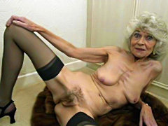Mix of Old Sluts Fucked and facial