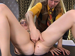 Hot mature hooked by horny guy hardcore session