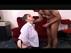 Hairy old bitch fucked in her ancient pussy