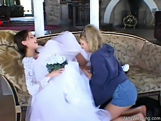 Eve bride 3some  free