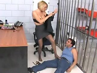 Krissy lynn footsex in pantyhose  free