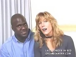 Blonde milf gets buttfucked by a large black man part1  free