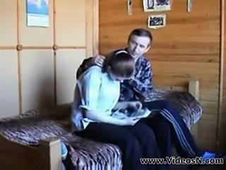 Hot russian girl homemade sex video  free