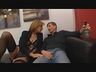 Hot Redhead German Aunt