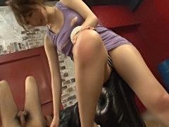 Asian gal anal.