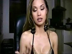 Import model Francine Dee does hardcore with her boyfriend on her webcam