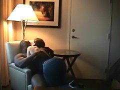 Amateur wifey meets her black lover in a hotel room behind her husbands back....