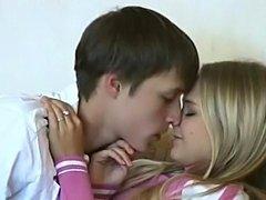 Russian Teens Enjoying themselves in fucking