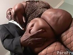 Two thick black girls fuck big black dick!