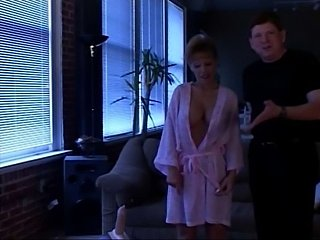 A horny older couple in kinky action with sybian