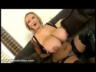 Nasty big tit british slut fucks huge black cock while hubby free