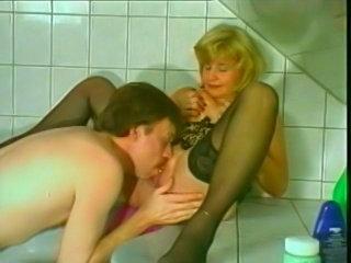 Sex with 70 yo mature German Oma Granny Senior woman