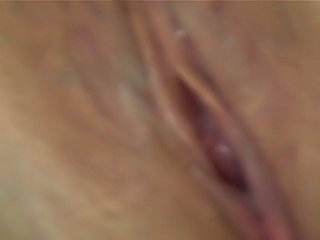 Closeup of a housewife's muscle contracting orgasm...