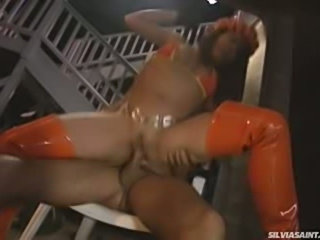 Beautiful Silvia Saint features in that hot orgy in hawaii