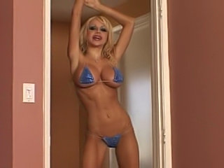 Danielle Derek gets her big fake boobs and skinny ass fucked.