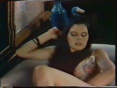Brunette beauty Caroline Grace fucks & masturbates so hard!