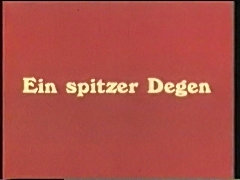 vintage 70s german - Ein spitzer Degen - cc79