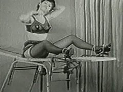 Betty Page Escapes from Bondage