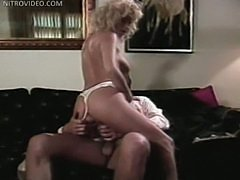 Gail Force Rides Cock and Gets Cum